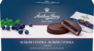 Anthon Berg Blåbær I Vodka 192