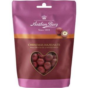 Anthon Berg Christmas Hasselnødder Med Chokolade 120 G