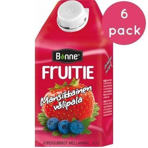 Bonne Fruitie Mansikkainen 6 x 0