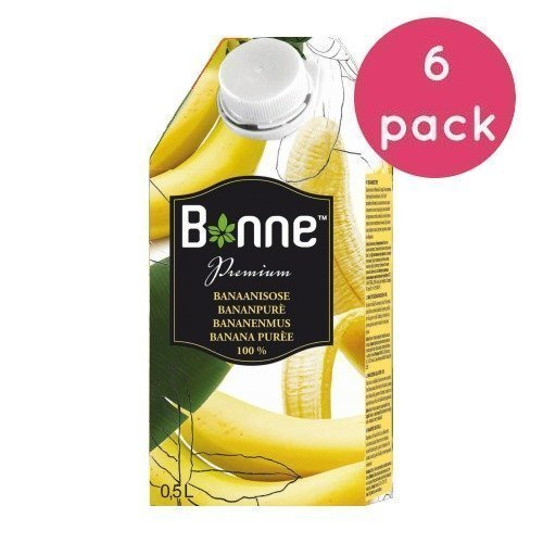 Bonne Premium Banaanisose 6 x 0
