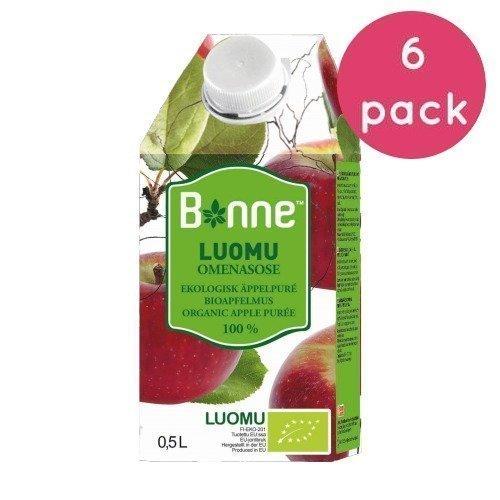 Bonne Premium Luomu Omenasose 6 x 0