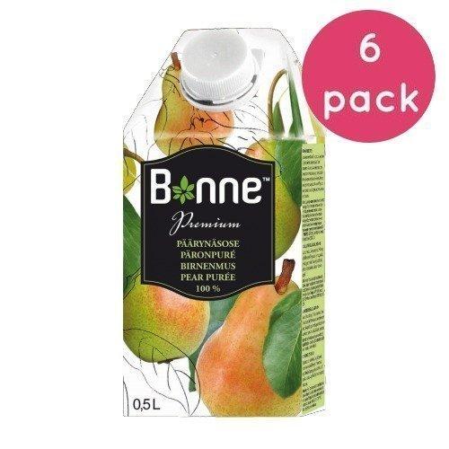 Bonne Premium Päärynäsose 6 x 0