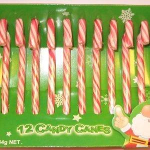 Candy Canes 144 G Karkkikeppi
