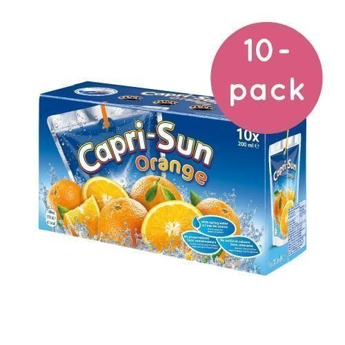 Capri-Sun Orange 10-pack