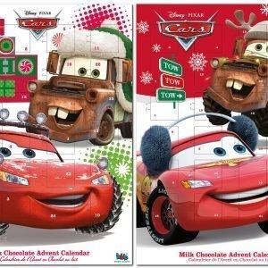 Cars 65 G Suklaajoulukalenteri