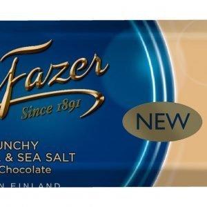 Fazer Crunchy Caramel & Seasalt 37 G Suklaapatukka
