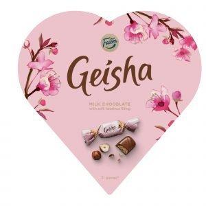 Fazer Geisha Sydän 225 G