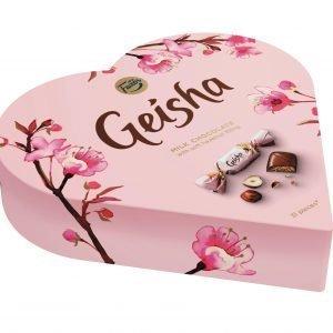 Fazer Geisha Sydän 225 G Suklaarasia