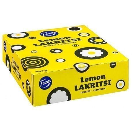 Fazer Lemon Lakritsi 30 x 20g