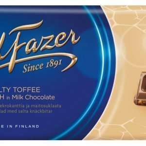 Fazer Salty Toffee Crunch 200 G Suklaalevy