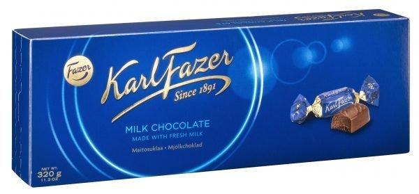 Fazer Sininen Maitosuklaa 320 G Suklaakonvehtirasia