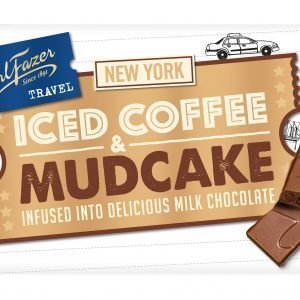 Fazer Travel Iced Coffee And Mudcake 130 G Suklaalevy