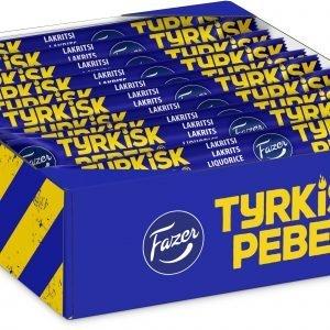 Fazer Tyrkisk Peber Lakritsi 20 G 30-Pakkaus