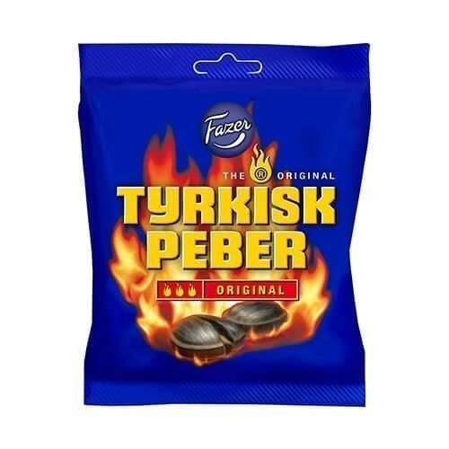 Fazer Tyrkisk Peber Original 120g
