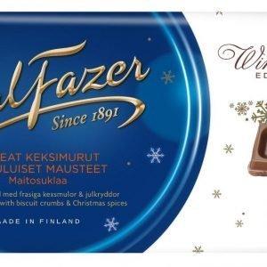 Fazer Winter Edition Rapeat 200 G Keksimurut & Jouluiset Mausteet Maitosuklaa