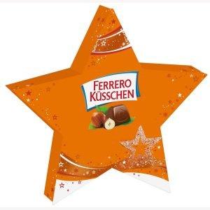 Ferrero Küsschen Praline-Stjerne 124 G