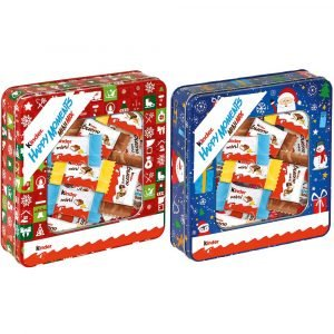 Ferrero Kinder Happy Moments Mini Mix Juledåse 197 G