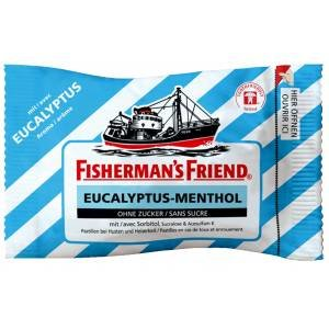 Fisherman's Friend Eucalyptus Sukkerfri 25 G