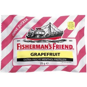 Fisherman's Friend Grapefruit Sukkerfri 25 G