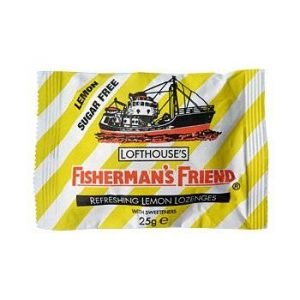 Fisherman's Friend Lemon Sukkerfri 25 G