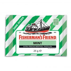 Fisherman's Friend Mint Sukkerfri 25 G
