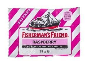 Fisherman's Friend Raspberry Sukkerfri 25g