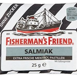 Fisherman's Friend Salmiak Sukkerfri 25 G