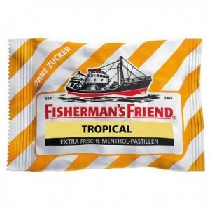 Fisherman's Friend Tropical Sukkerfri 25 G