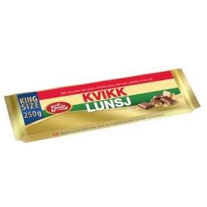 Freia Kvikk Lunsj Chokolade Plade 250 G