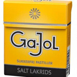 Ga-Jol Gul Salt-Lakrids 8 Pakker