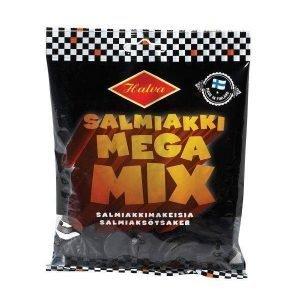 Halva Salmiakki Mega Mix 163g