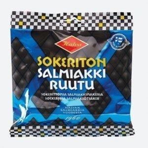 Halva Sokeriton Salmiakki 90g