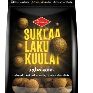 Halva SuklaaLakuKuulat Salmiakki 140g