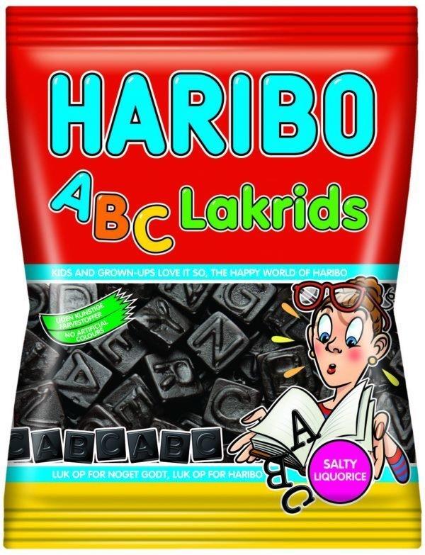 Haribo Abc Lakrids 72 G Salmiakki