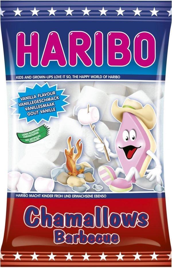 Haribo Chamallows Barbecue 175 G Vaahtokarkki