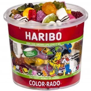Haribo Color-Rado 650 G Makeissekoitus