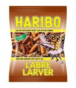 Haribo Labre Larver 325 G (3 For 50)
