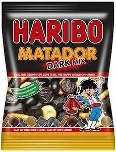 Haribo Matador Dark Mix 375 G (3 For 50)