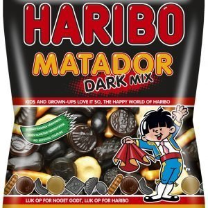 Haribo Matador Mix Dark 270 G Makeispussi