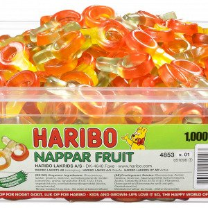 Haribo Nappar Fruit Sutter 1kg