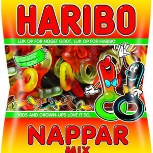 Haribo Nappar Mix 300 G Makeispussi