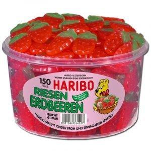 Haribo Store Jordbær (Riesen Erdbeeren) 1350g