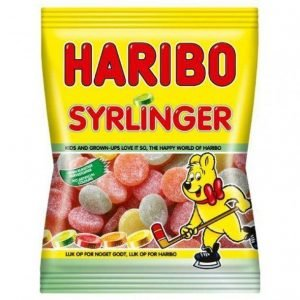 Haribo Syrlinger 375 G