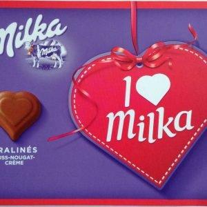 I Love Milka Hasselnøddecreme Pralinés 110 G