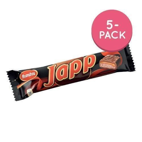 Japp 5-pack 5 x 28g