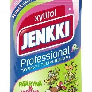 Jenkki Professional Junior Vadelma-Päärynä 80 G Purukumi