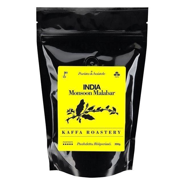 Kaffa Roastery India Monsoon Malabar papu 200g