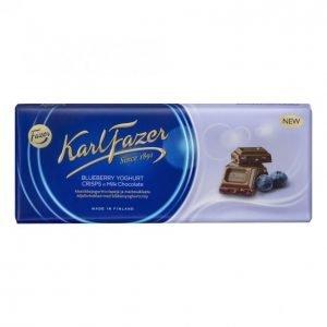 Karl Fazer Suklaalevy Mustikkajogurtticrisp 190 G