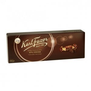 Karl Fazer Tumma Suklaa Konvehti 320g Cocoa 47%