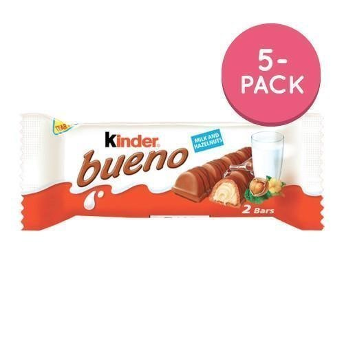 Kinder Bueno Milk 5-pack 5 x 43g